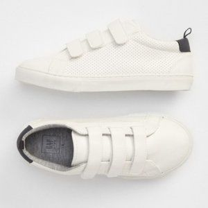 Gap Kids Classic Sneakers White with Velcro